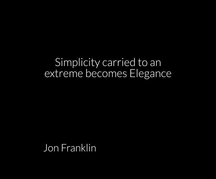 gregsquare2.eu-J. Franklin quote on simplicity